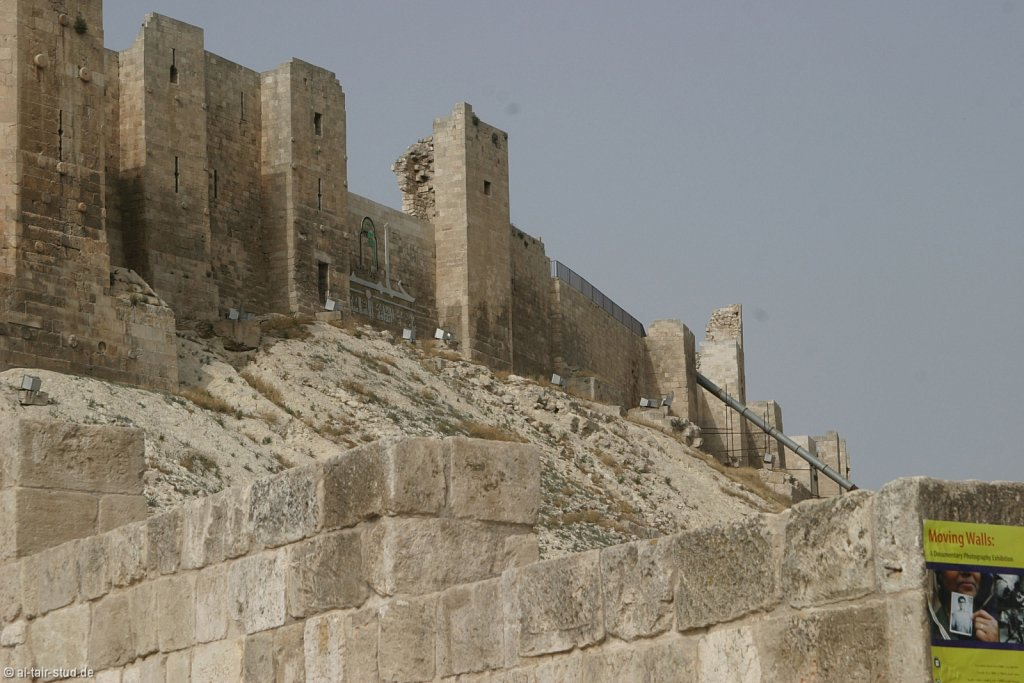 2007 May 02 Tour A1 Aleppo Citadel